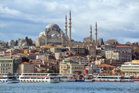 suleymaniye: Suleymaniye Mosque in Istanbul Turkey