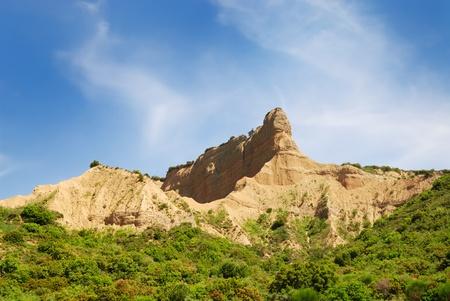 historically: Sphinx shaped historically important hill in Gallipoli Turkey