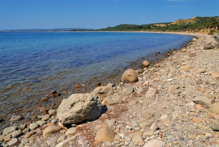 Historical Anzac Cove in Canakkale Turkey