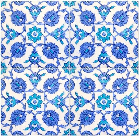 photo of original turkish tiles