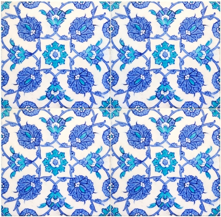 photo of original turkish tiles