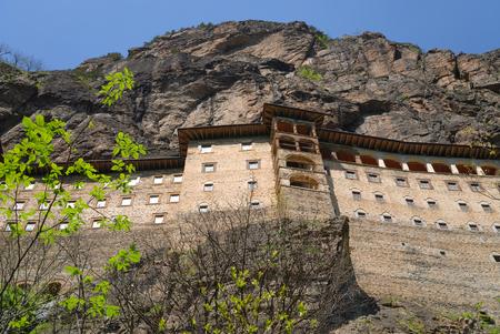 Ancient Greek Orthodox Sumela Monastery in Trabzon Turkey