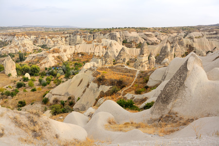 Fairy Chimney in Goreme Nevsehir Turkey Stock Photo