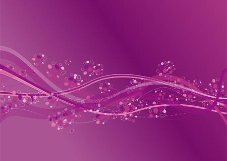 oscillation: Purple Ondas en el aire un color
