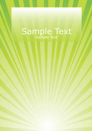 Abstract Cover Template - Colorful with a suggeration of light