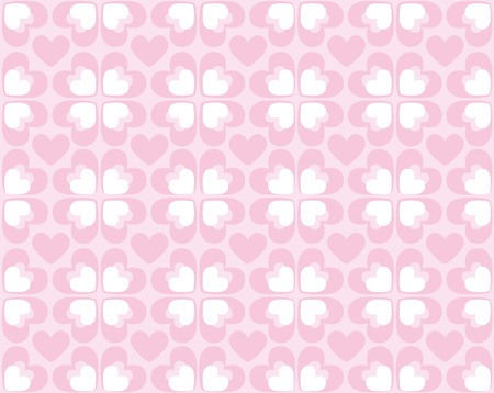 Seamless heart pattern for every use Vector