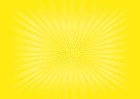 Illustration of yellow sunburst background Stock Vector - 4648031