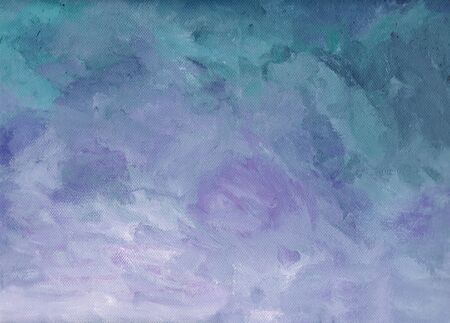 upcoming: Acrylic purple  blue background structure suggests a upcoming sun