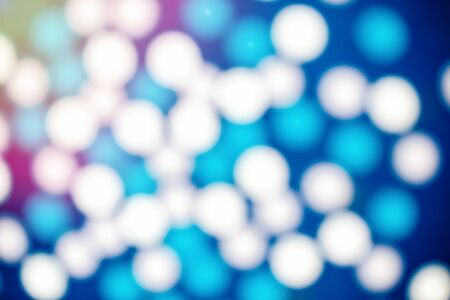 Blurred edges of colorful balloons, flickering lights for bokeh background. white, blue Banque d'images - 125045745