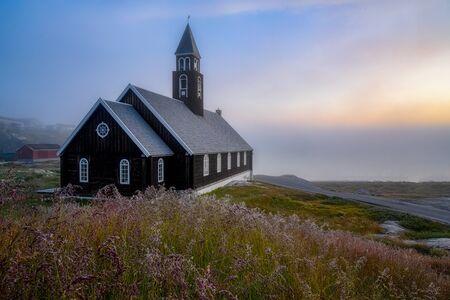 West Greenland Ilulissat Jakobshavn Jacobshaven Zion Church