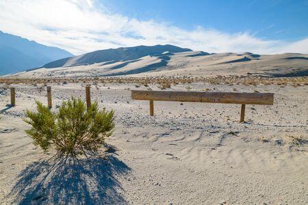 Eureka Dunes Dry Camp, suothwest USA restoration area
