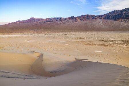 Eureka Dunes Dry Camp, suothwest USA sand