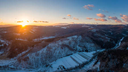 beautiful Slovak unspoilt nature, a wonderful destination for vacation and relaxation