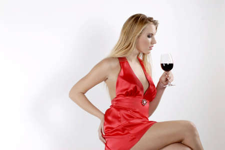 Red red wine photo