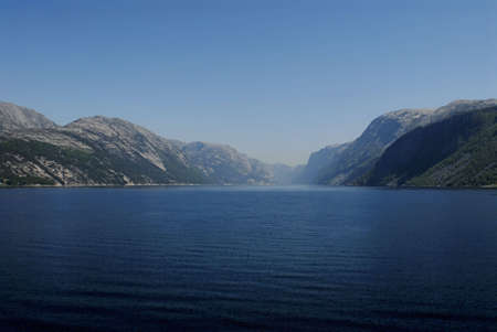 sailer: Picture of Lysefjord - fjord near Stavanger in Norway.