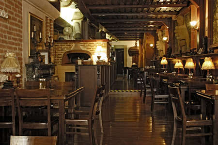 Picture of modern restaurant interior Stock Photo - 1397156