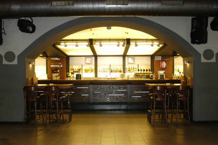 Picture of modern bar interior