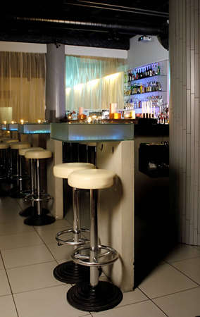 Picture of modern bar interior Stock Photo - 1397099