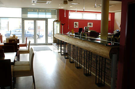 shop interior: Picture of modern bar interior