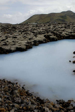 The Blue Lagoon, a geothermal bath resort in Iceland. Stock Photo - 3780670