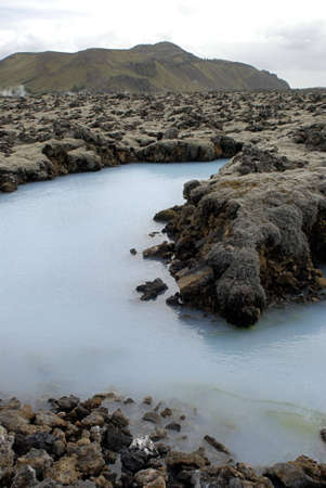 The Blue Lagoon, a geothermal bath resort in Iceland. Stock Photo - 3780668