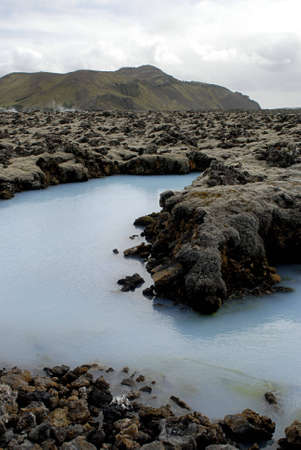 The Blue Lagoon, a geothermal bath resort in Iceland. Stock Photo - 3780667
