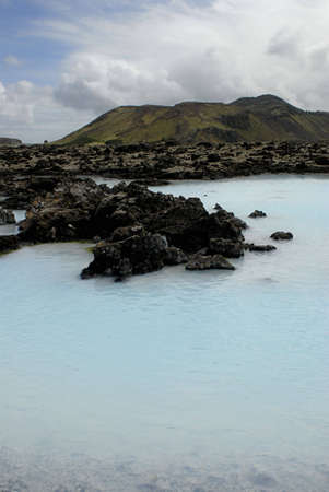 The Blue Lagoon, a geothermal bath resort in Iceland. Stock Photo - 3780659