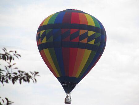 Hot Air Balloon at the fair photo