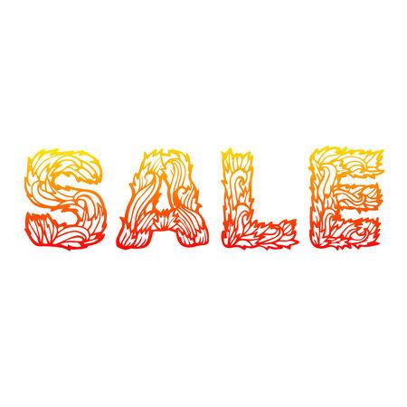 illustrati: sale percent card business vector background concept. illustrati