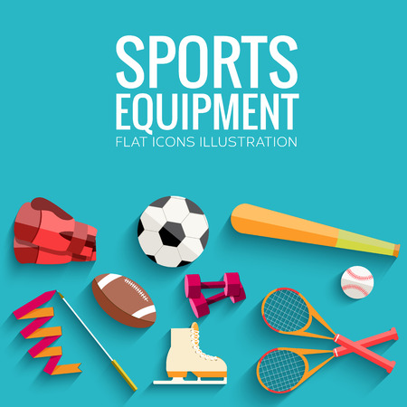 rollers: Circular concept of sports equipment sticker background. vector Illustration