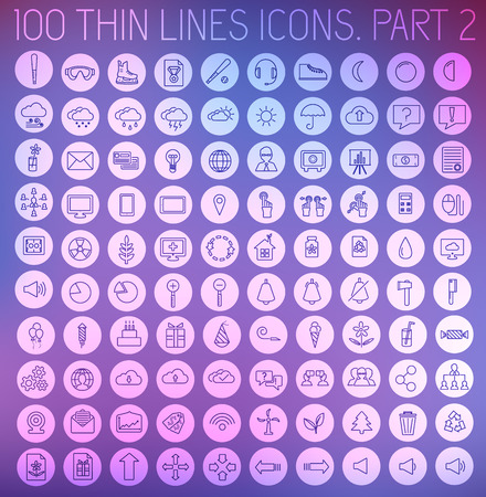 buisnessman: part 2 of collection thin lines pictogram icon