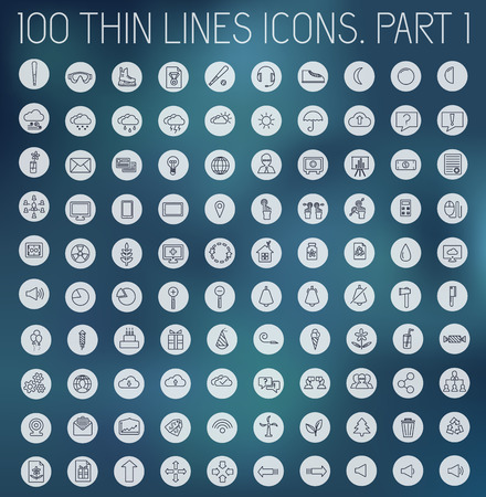 rollerblades: part 1 of collection thin lines pictogram icon Illustration