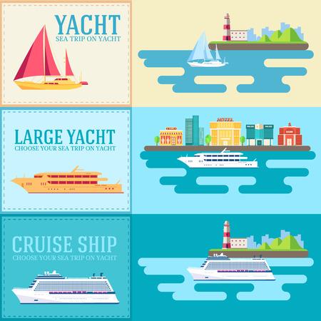 平らなヨット、スクーター、ボート、貨物船、蒸気船、フェリー、ボート、タグボート、ばら積み貨物船、船、プレジャー ボート、魚釣りのクルー