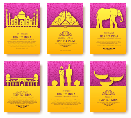 saree: Set of Indian country ornament illustration concept. Art traditional, poster, book, poster, abstract, ottoman motifs, element. Vector decorative ethnic greeting card or invitation design background.