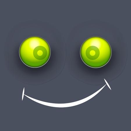 happy smile emotion. Vector illustration design