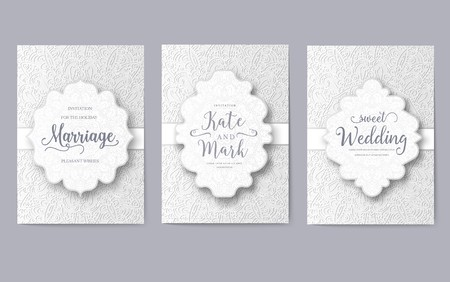 Oriental concept for a new style magazine. A poster with floral patterns for a home handmade business. Invitation card for birthday, party or wedding. Traditional design with typography