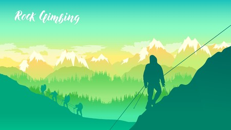 Travel Lifestyle wanderlust adventure concept summer vacations outdoor alone into the wild. People helping each other hike up a mountain at sunrise