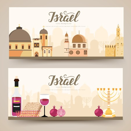 Set of Israel country