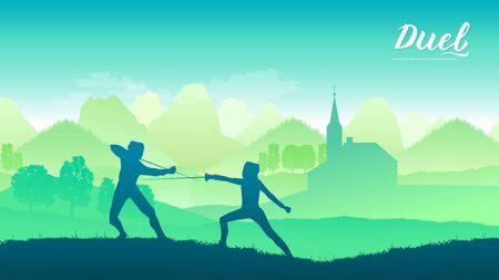 France warriors with sword Иллюстрация