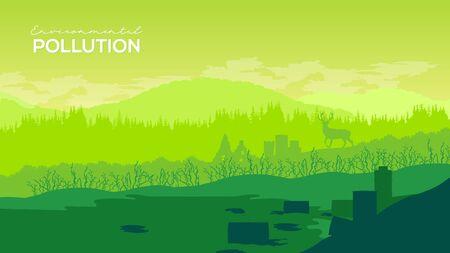 Deforestation environmental forest