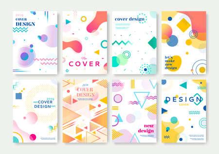 Vector illustrations for brochure