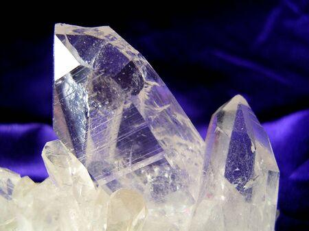 Quartz Crystal Stock fotó