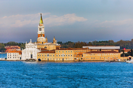 to seem: Cityscape from the sky. Colors of the old and historical structure seem warm and spectacular in Venice, Italy