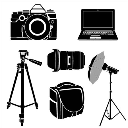 image  photography equipment 向量圖像