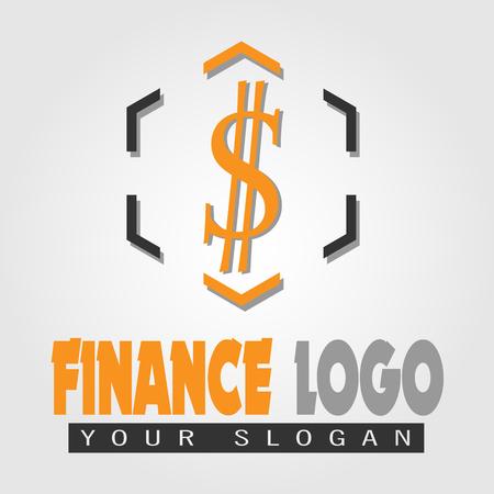 vector image finance logo Ilustração