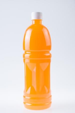 Fresh orange juice on a background Stock Photo