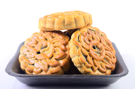 Cookies on a white background. photo