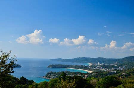 Scenic overlooks 3 beautiful beaches of Phuket