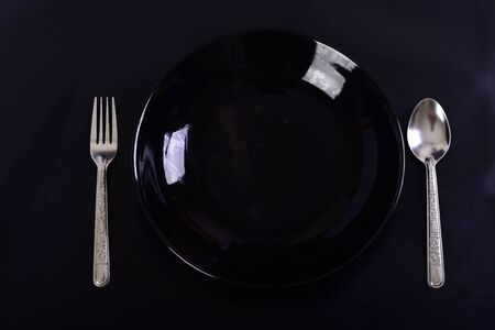 Dinner Plate,spoon and Fork
