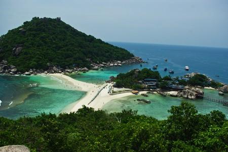 nang: Koh Nang Yuan Island Stock Photo